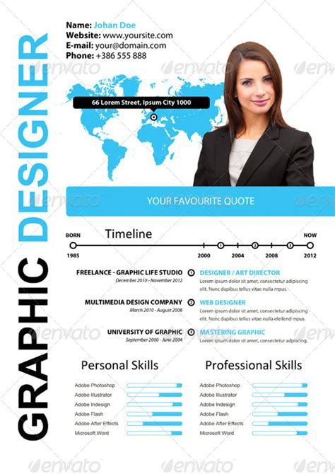 How To Write Attractive Curriculum Vitae by Simple Attractive Cv By Xstyler Graphicriver