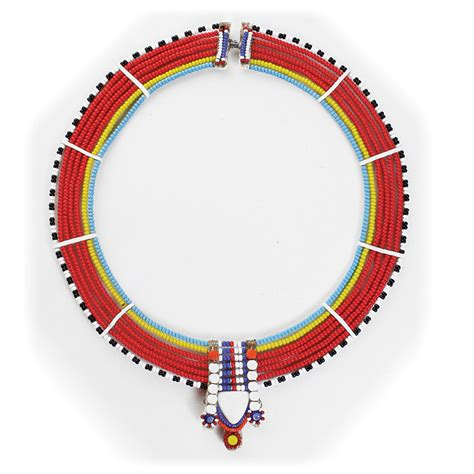 Traditional Maasai Necklace - ASSORTED - Necklaces