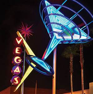 2013 a neon signs vegas martini
