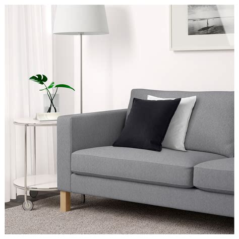 furniture karlstad loveseat     natural