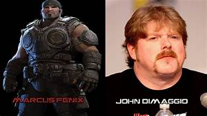 Characters And Voice Actors Gears Of War 3 YouTube