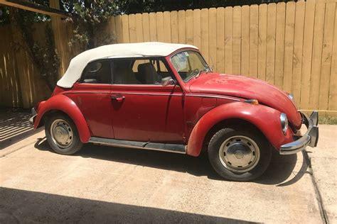 super  lowercase   vw beetle convertible