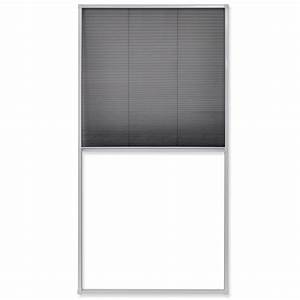 Plissee 80 Cm : acheter vidaxl moustiquaire pliss e pour fen tre 160 x 80 ~ Whattoseeinmadrid.com Haus und Dekorationen