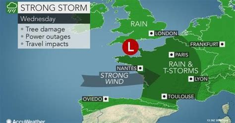 Seemorerocks: Bomb cyclone headed for UK, France and Germny