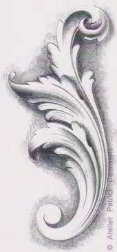 ornamental woodcarver patrick damiaens the acanthus leaf acanthus ornament carving a