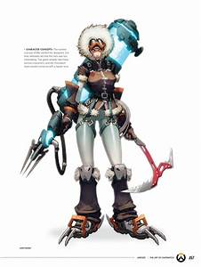 Overwatch Concept Art Reveals Mei Was Supposed To Be