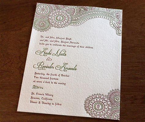 indian wedding invitation card design gallery anshi
