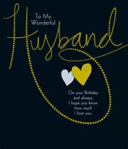Husband Birthday Happy Wishes Cards Romantic Anniversary