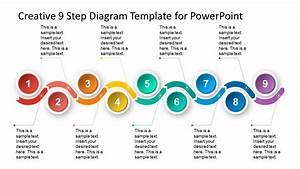 9 Steps Material Design Timeline Template
