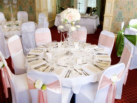 wedding chair covers sashes adelaides wedding