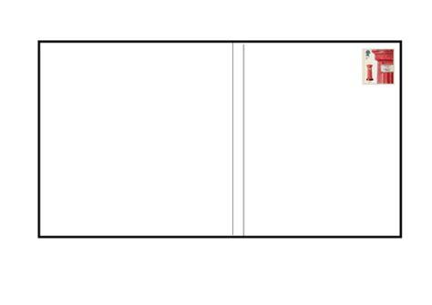 blank  postcard template  rachye teaching resources