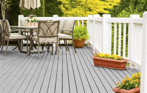 Light Grey Decking Stain