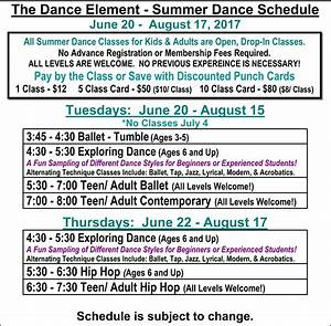 The Dance Element - Summer Dance Classes for kids & adults ...