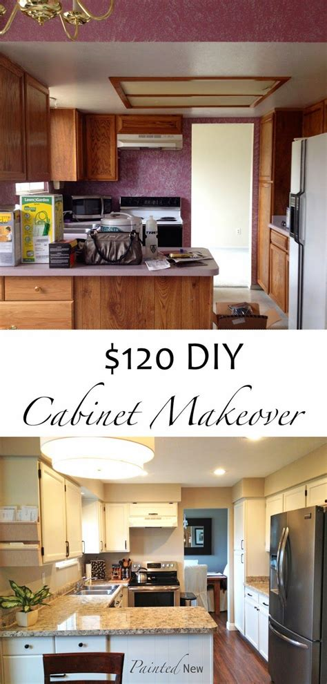 painted cabinet makeover  sherwin williams