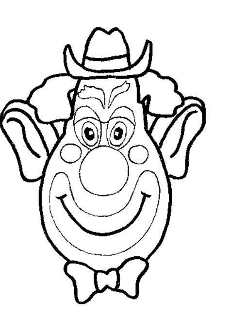 Kleurplaat Clowsgezicht by Clowns Kleurplaten Animaatjes Nl