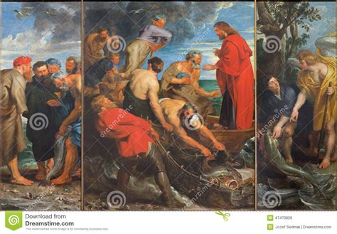 The Miracle Fishing Triptych (1618) By Peter