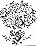 Coloring Flowers Flower Bouquet Printable Sheets Floral Fiori Colorare Google Simple Animal Stampare Imwithphil Unicorn Colour Docs Adults Easy Awesome sketch template