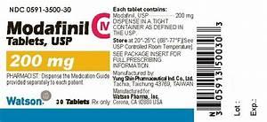 Modafin  Modafinil  200mg  30 Pills