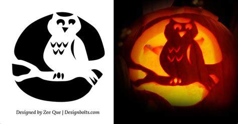 printable scary halloween pumpkin carving stencils