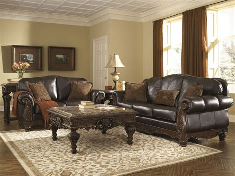 North Shore Dark Brown Sofa, 2260338, Ashley Furniture