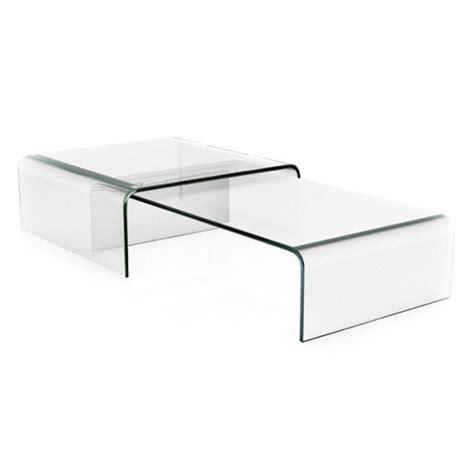 chambre galipette table basse transparente