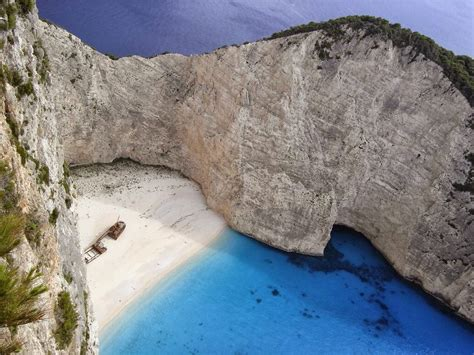 World Visits Navagio Beach Greece Tour Of Europe