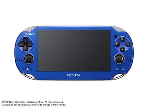 Red And Blue Ps Vita's Announced