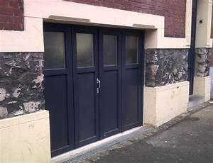 porte de garage bois pvc double vitrage fenetres a With fenetre de porte de garage