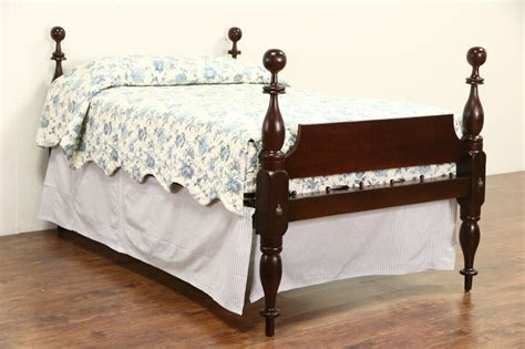 Empire 1840 Antique Full Or Double Size 4 Poster Rope Bed