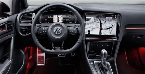 vw golf gti   interior vw specs news