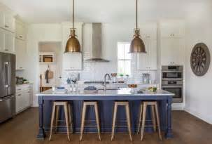 blue kitchen island paint color  benjamin moore hc