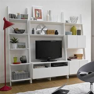 Meuble Tv Avec Etagere : etag re chelle meuble tv giusto la redoute meuble tv biblioth que pinterest etagere ~ Teatrodelosmanantiales.com Idées de Décoration