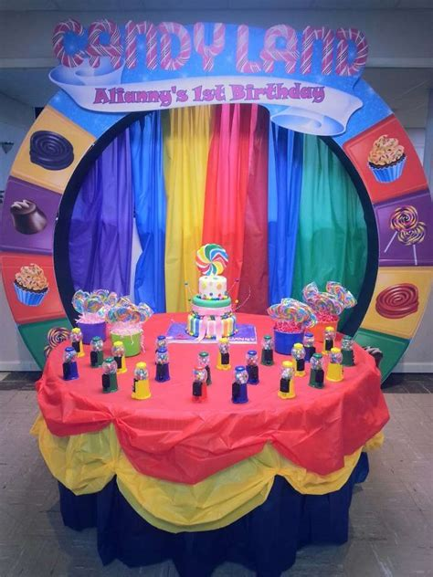 Candy, Candyland, Candy Land Birthday Party Ideas Photo