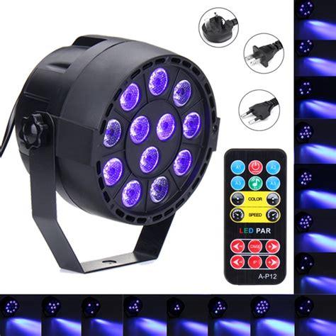 purple led light bar 36w 12 led uv purple dmx par light disco bar dj light show