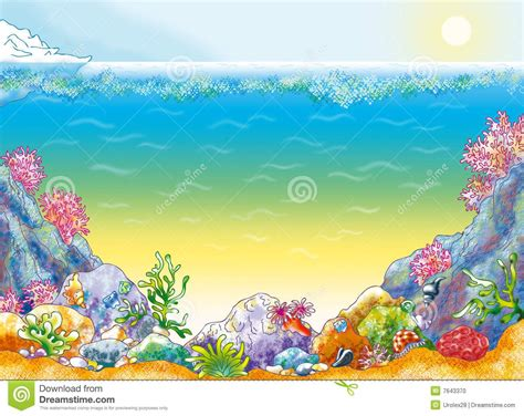 Ocean Floor Clipart Ocean