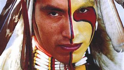 Native American Indian Face Usa Paint Hour