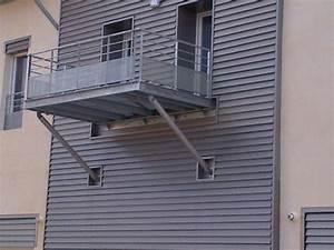 Terrasse Metallique Suspendue : terrasse suspendue montpellier ~ Dallasstarsshop.com Idées de Décoration