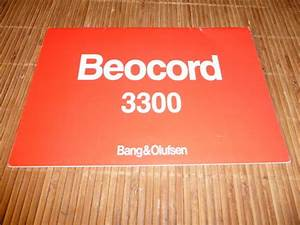 Operating Manual For Bang  U0026 Olufsen Beocord 3300 In Danish