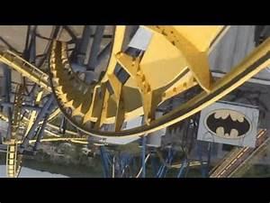 Batman (On-Ride) Six Flags Great Adventure - YouTube