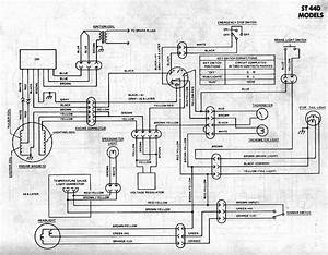 Generic Kawasaki Snowmobile Wiring Diagrams