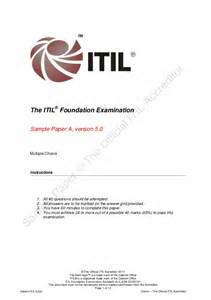 itil 2011 foundation certified logo for resume itil foundation examination sle a v5 0 jqw 20120101