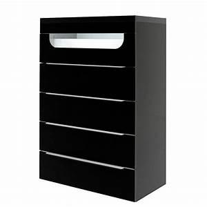 Kommode 2 M Lang : kommode delphi schwarz mit beleuchtung modell 2 ~ Bigdaddyawards.com Haus und Dekorationen