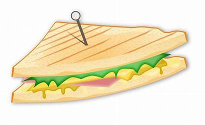 Sandwich Clipart Salad Svg Tuna Cliparts Clip