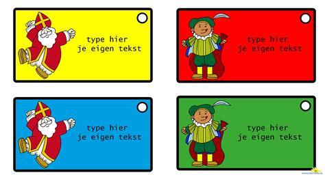Huis Versieren Voor Sinterklaas by Sinterklaas Traktatie Label Nl