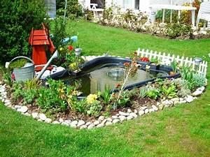 Plante Pour Bassin Extérieur : mon petit bassin de jardin 500 l photos ~ Premium-room.com Idées de Décoration