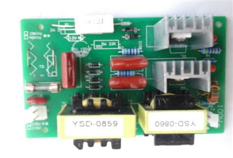 100w 28khz ultrasonic cleaning power driver board 110vac in lifier from consumer electronics