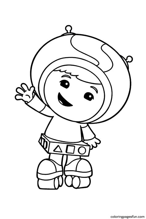 Coloring Umizoomi free printable team umizoomi coloring pages for