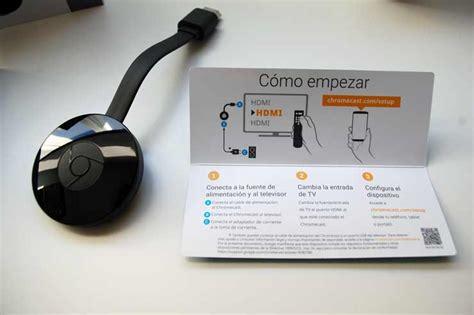 probamos chromecast el dispositivo de  de google mamitech