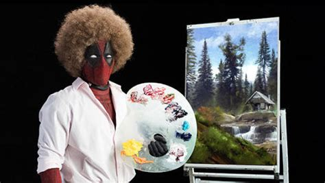 Ryan Reynolds Mimics Bob Ross In New