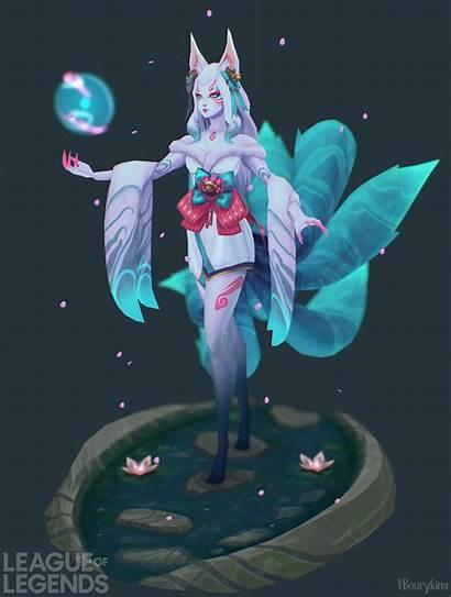 Yekaterina Bourykina Ahri Blossom Spirit Chromas Character